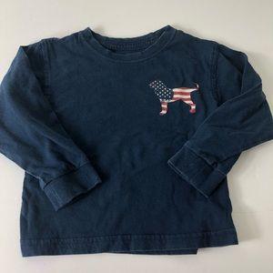 The Black Dog Long Sleeve Toddler Tee Shirt 867